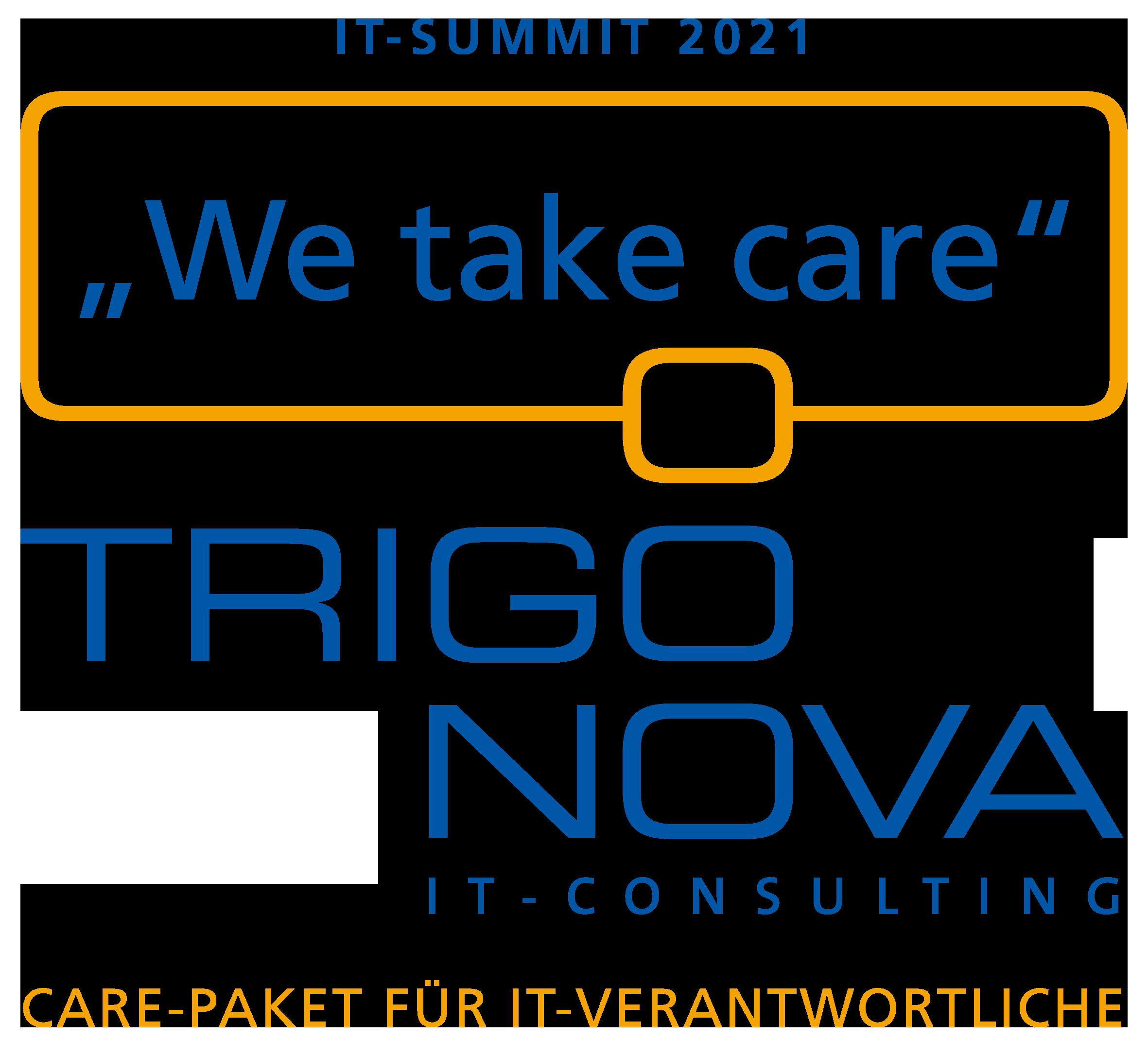 IT Summit 2021 - We take care